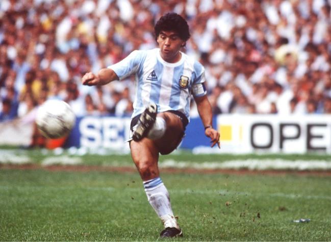 FUSSBALL : WM 1986 in MEXIKO , ARGENTINIEN - BELGIEN 2:0