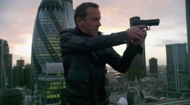 Jack Bauer resurfaces in London in Live Another Day (Picture: Fox)