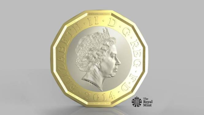 Revealed: This is what the new £1 coin will look like