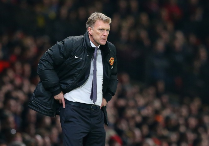 Poor David Moyes. Nothing is going right (Picture: Getty)