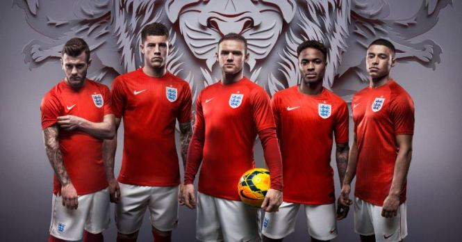 Pricey: The new England kit will cost £90 (Picture: Nike)